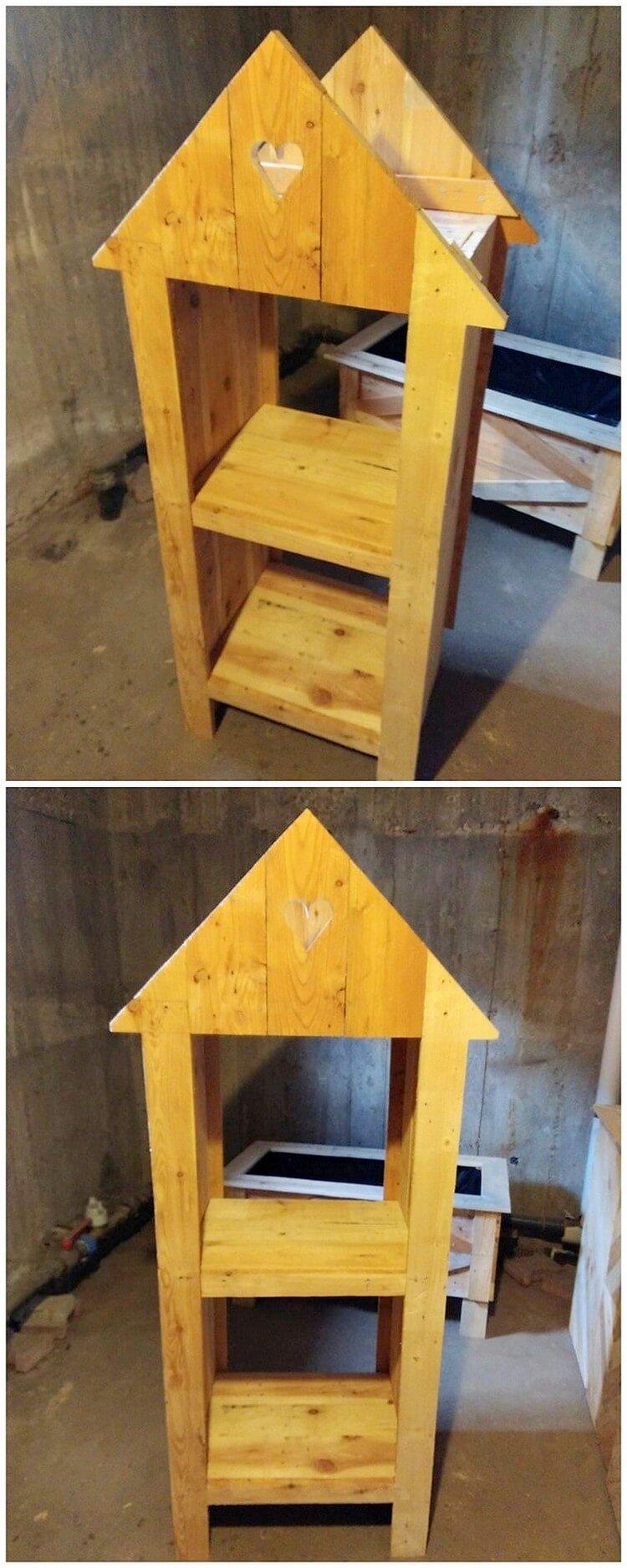 Pallet Furniture Shelf