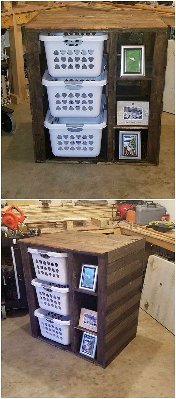 Pallet Laundry Table