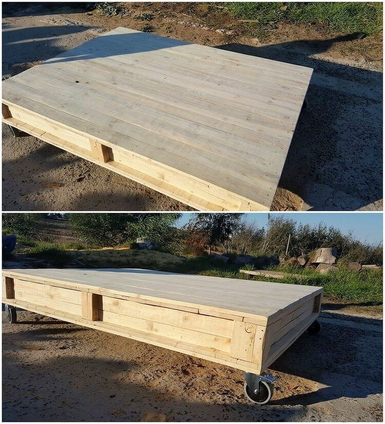 Pallet Rolling Table