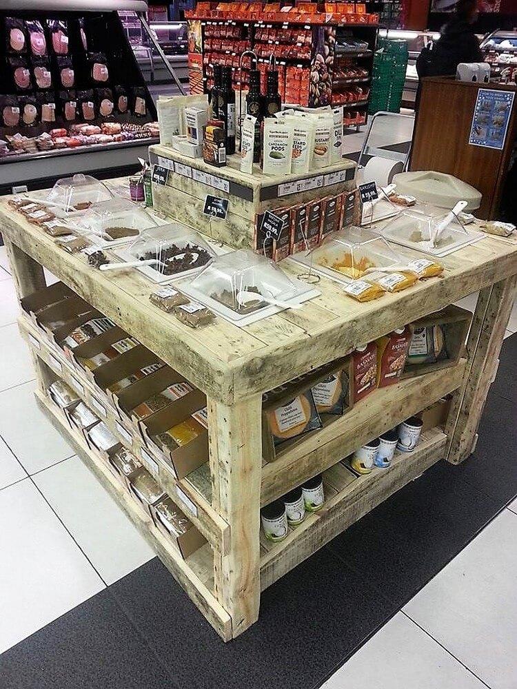 Pallet Shop Table