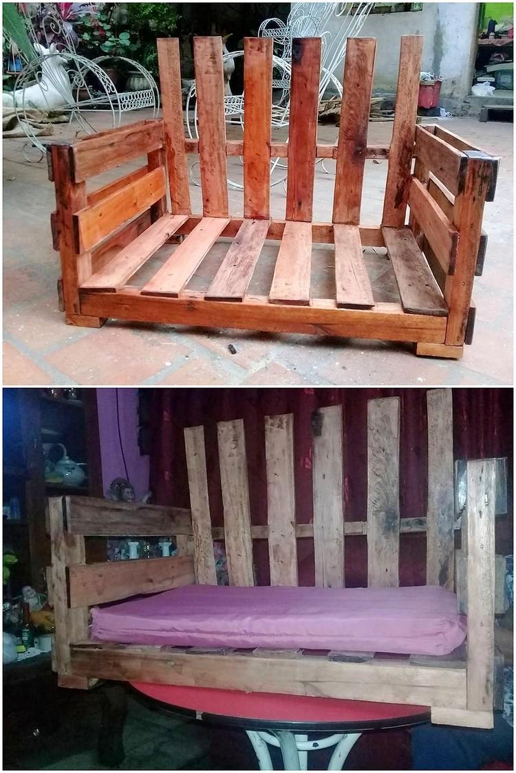 Wood Pallet Seat