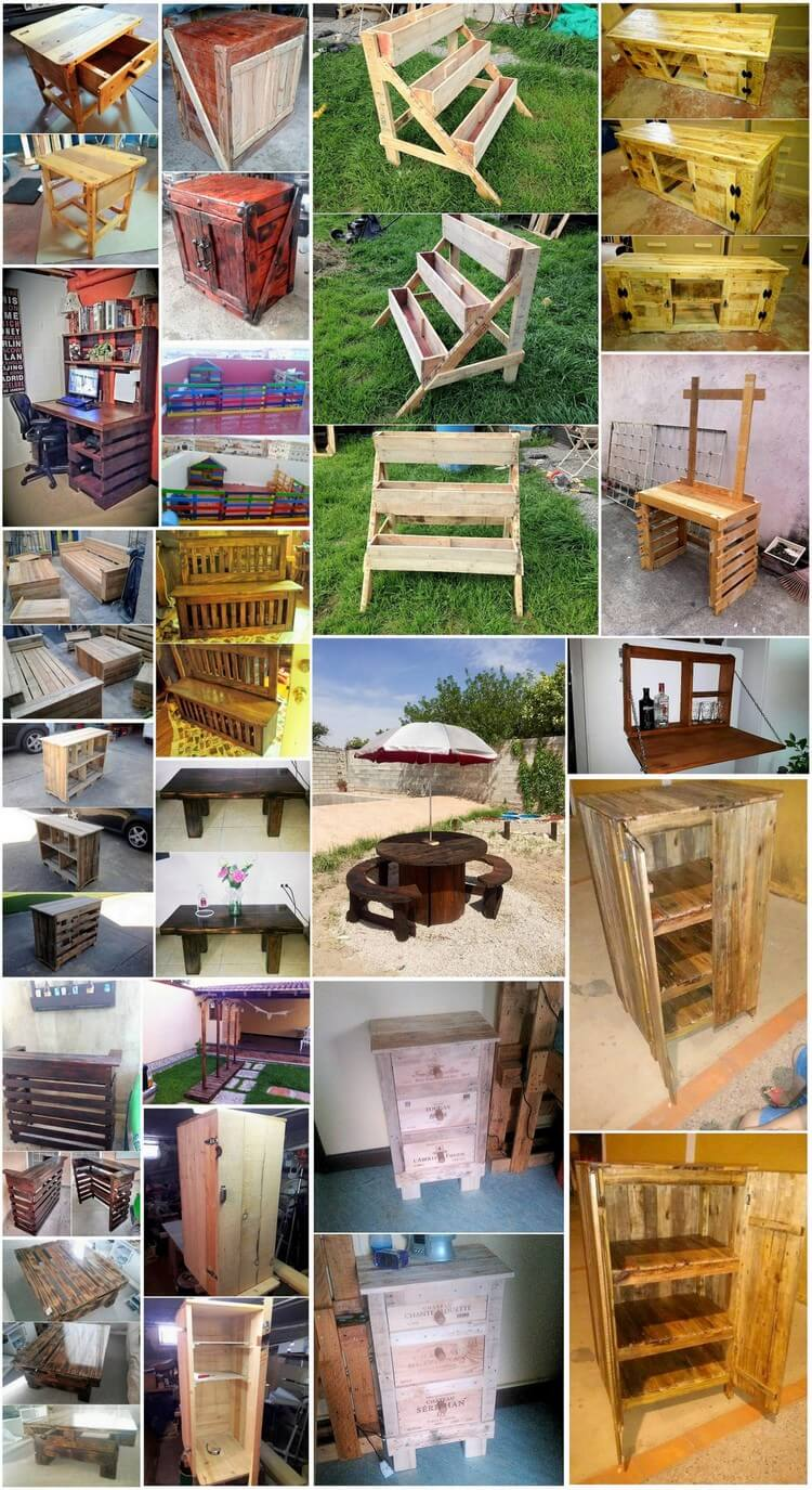 25 Cool and Easy Wood Pallet Recycling