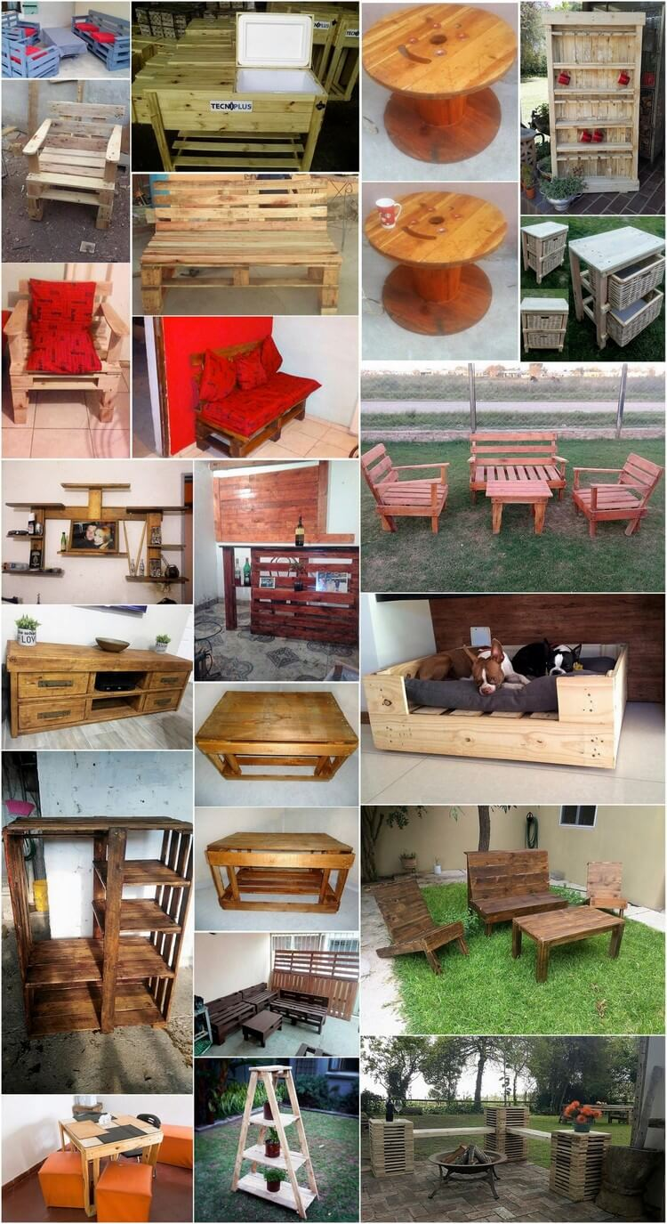 Excellent Ideas to Upcycle Ideas Used Wood Pallets