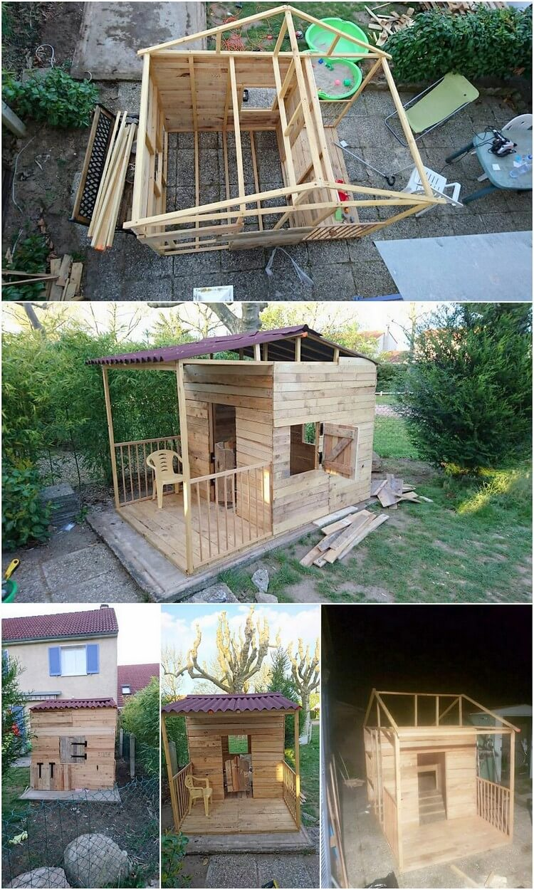 Pallet Cabin or Playhouse