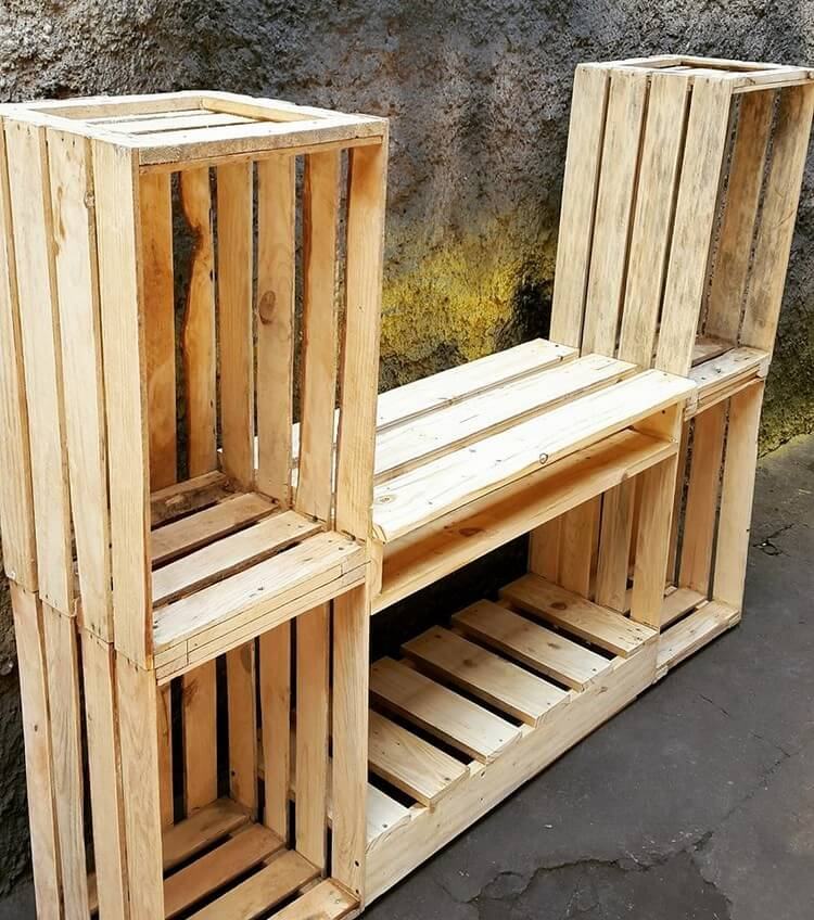 Pallet and Crates Creation