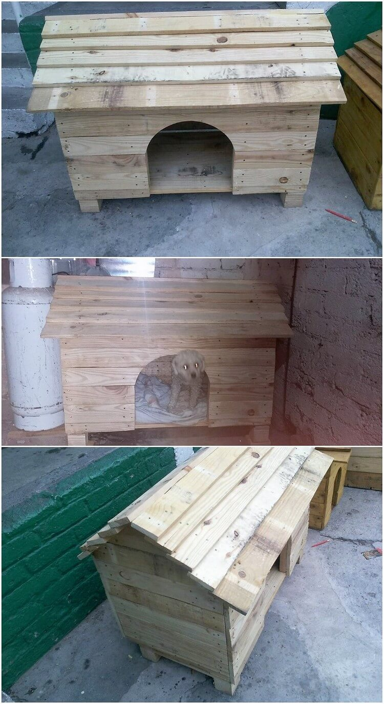 Recycling ideas for used shipping wood pallets recycled - Palette recyclee ...
