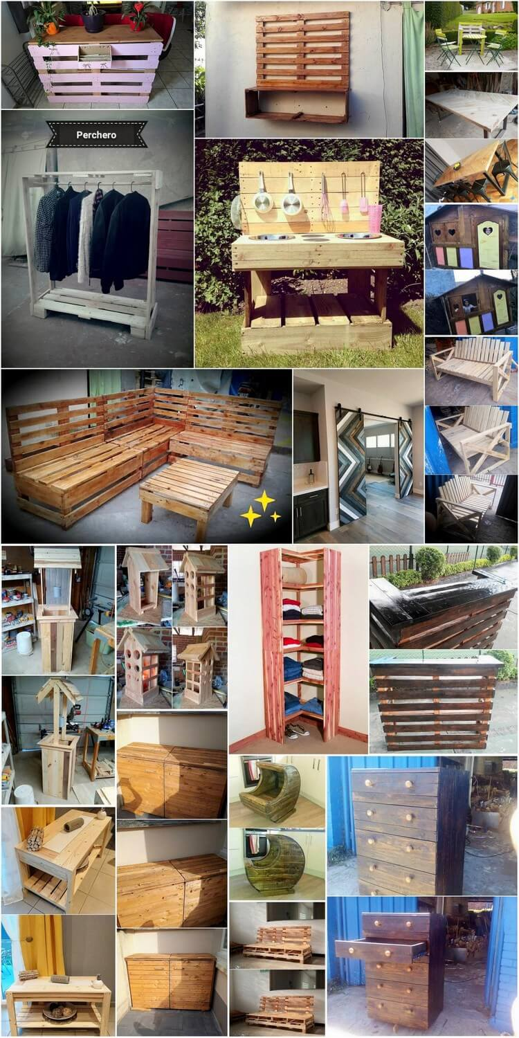 Awesome Wooden Pallet Crafts That You Can