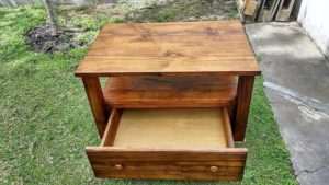 How To Make Pallet Coffee Table with Drawer – Step by Step