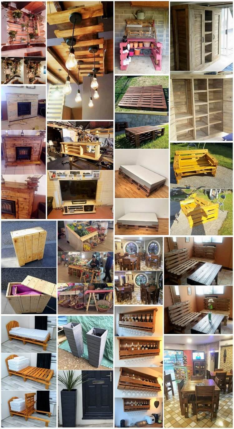 Outstanding Wood Pallet Projects That Can Improve Your Home