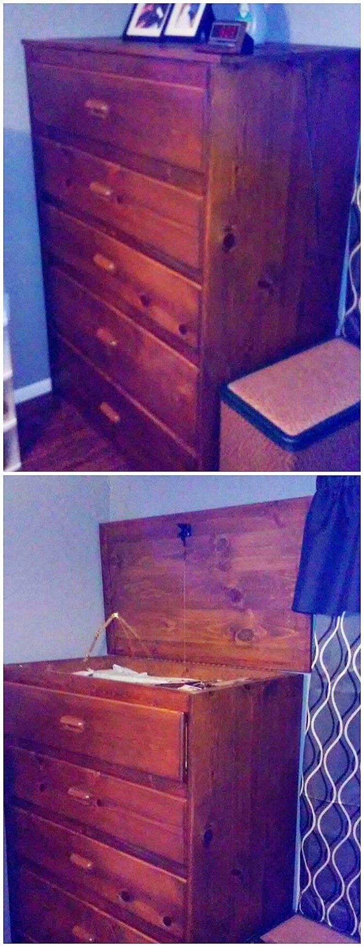 Pallet Chest of Drawers