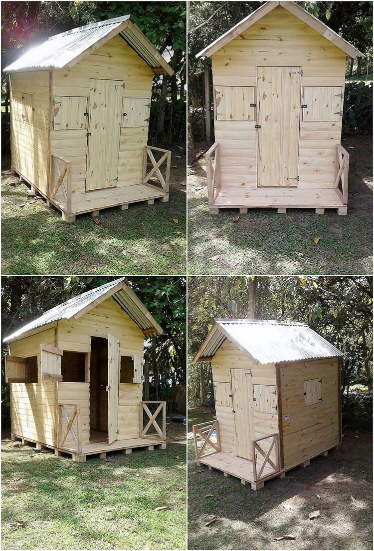 Pallet Garden Cabin or House