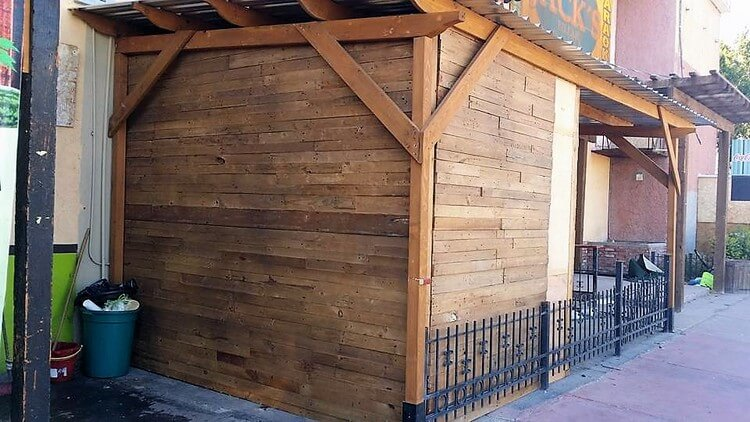 Pallet Outdoor Shed