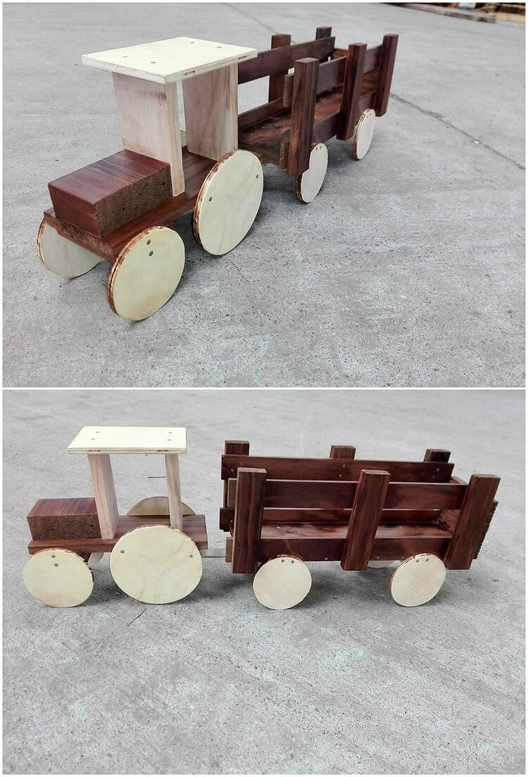 Pallet Train for Kids