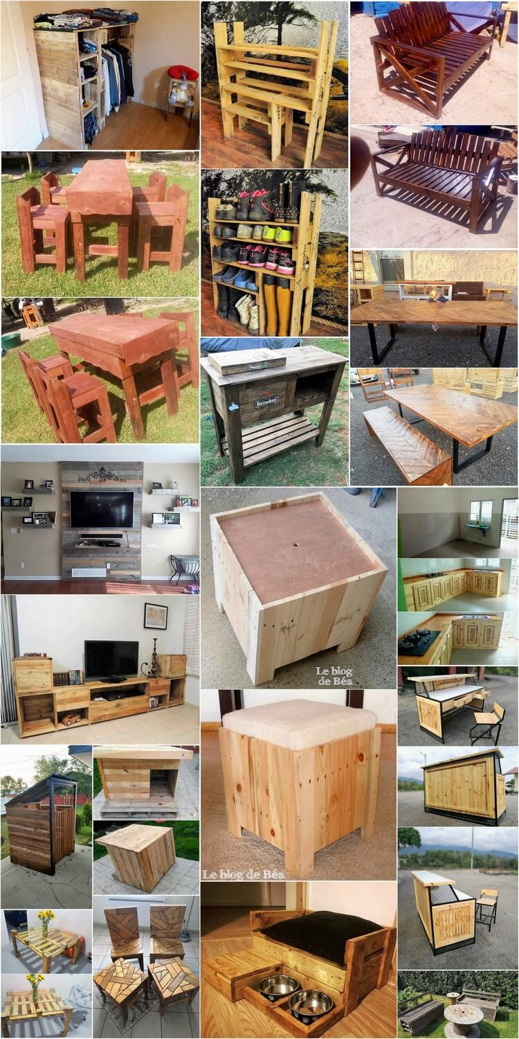 Recycle Wood Pallets to Make Some Amazing Things