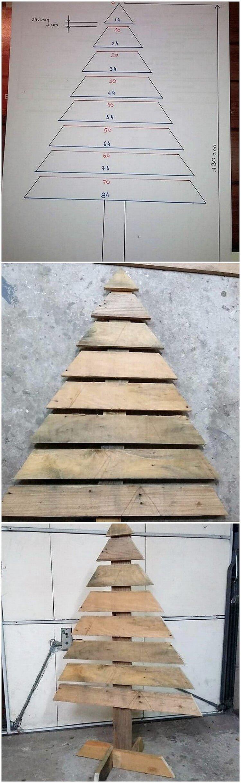 DIY Pallet Christmas Tree