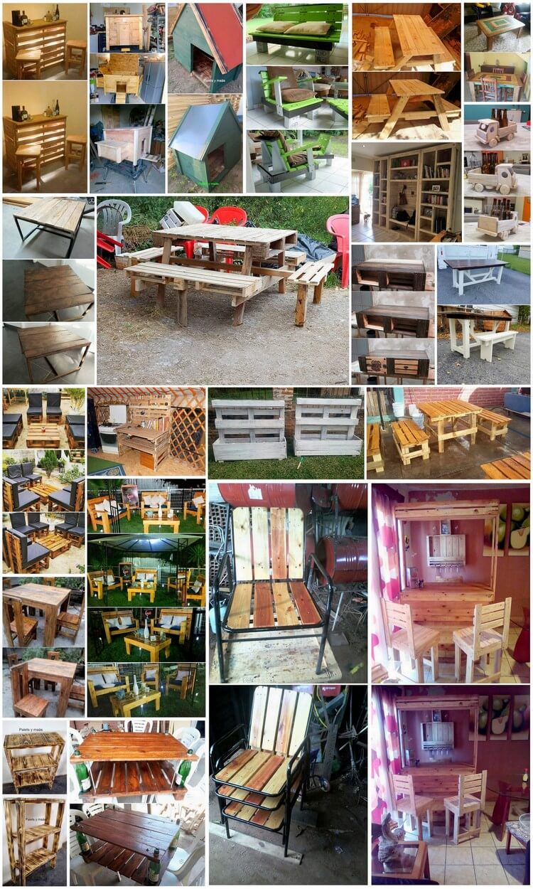 Genius Projects to Try With Used Wooden Pallets