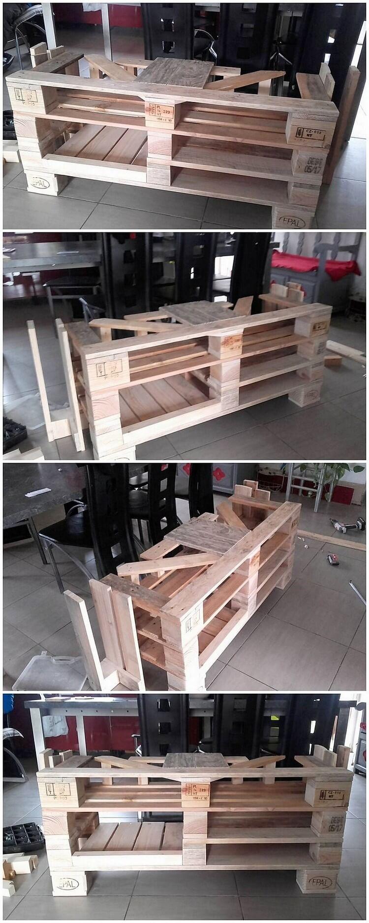 Unique Wood Pallet Table