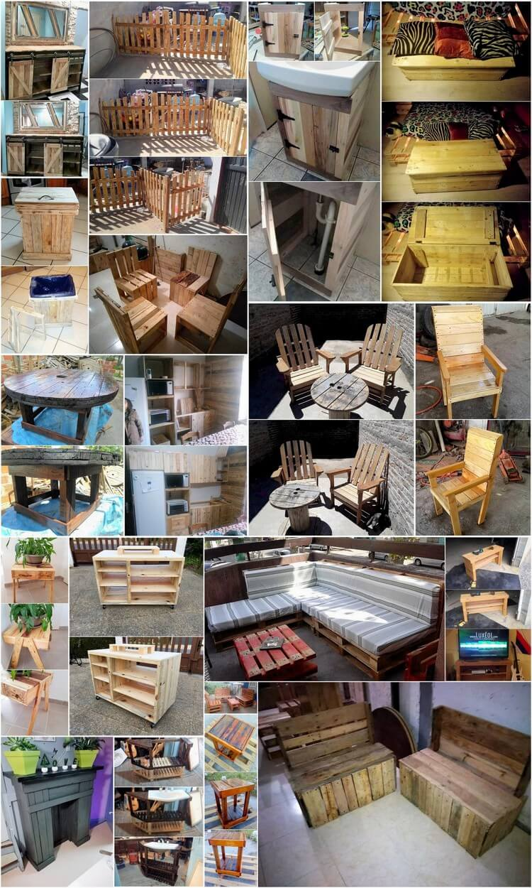 Unique and Decent Wood Pallet Recycling Ideas