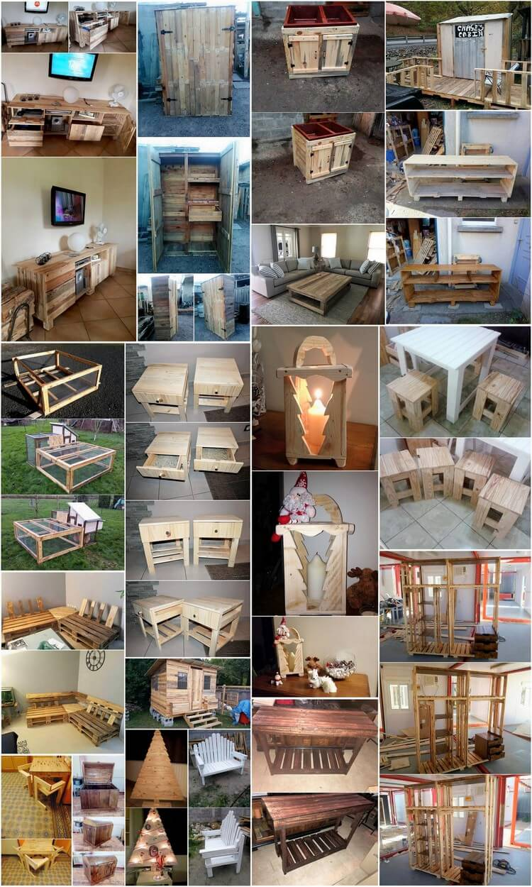 Creative Recycling Plans for Used Wooden Pallets