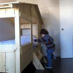 DIY Wood Pallets Kids Bunk Bed