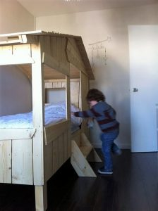 DIY Wood Pallets Kids Bunk Bed: Step by Step Plan