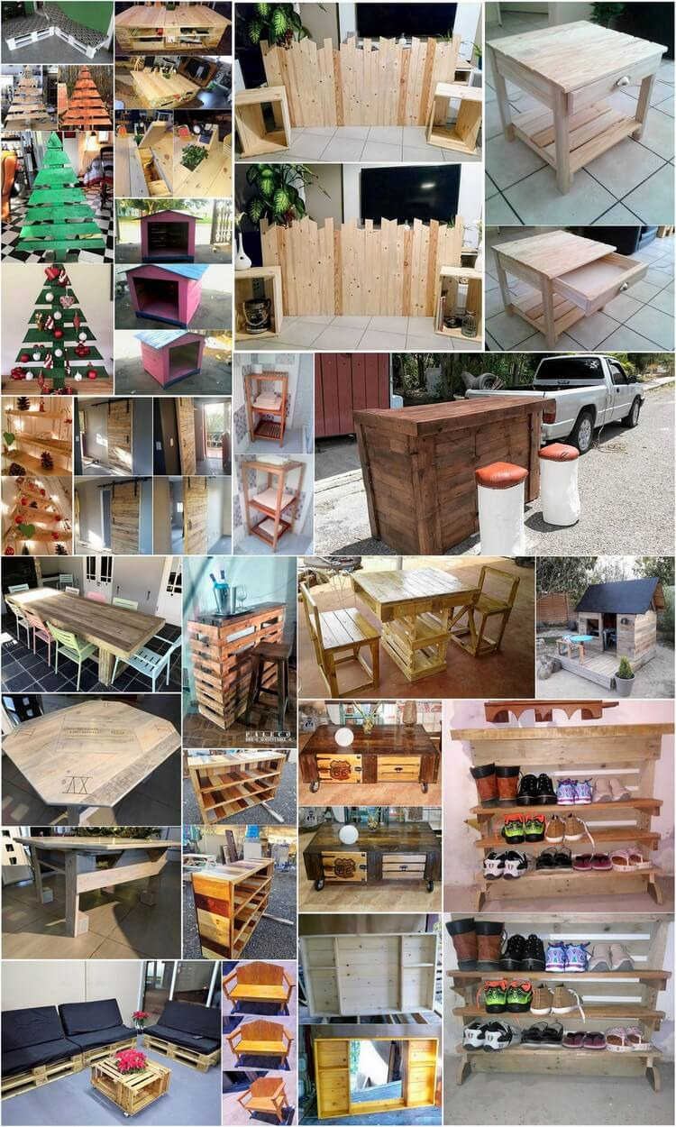 Fabulous DIY Wooden Pallet Ideas That Are Easy to Make