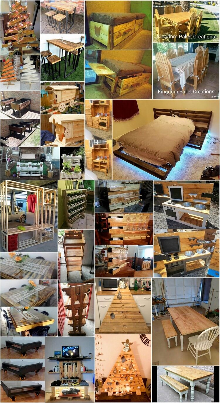 Genius Ways Reuse Wasted Wood Pallets