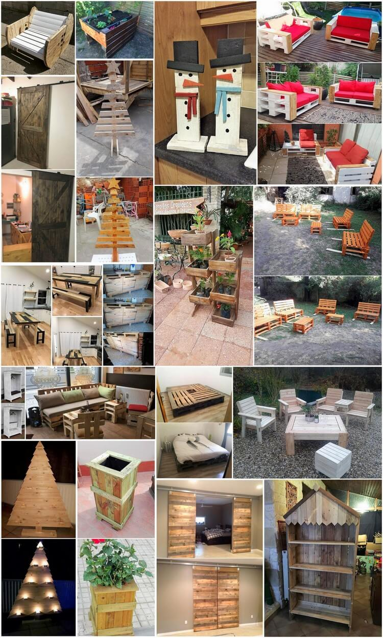 Inexpensive DIY Wood Pallet Ideas and Projects