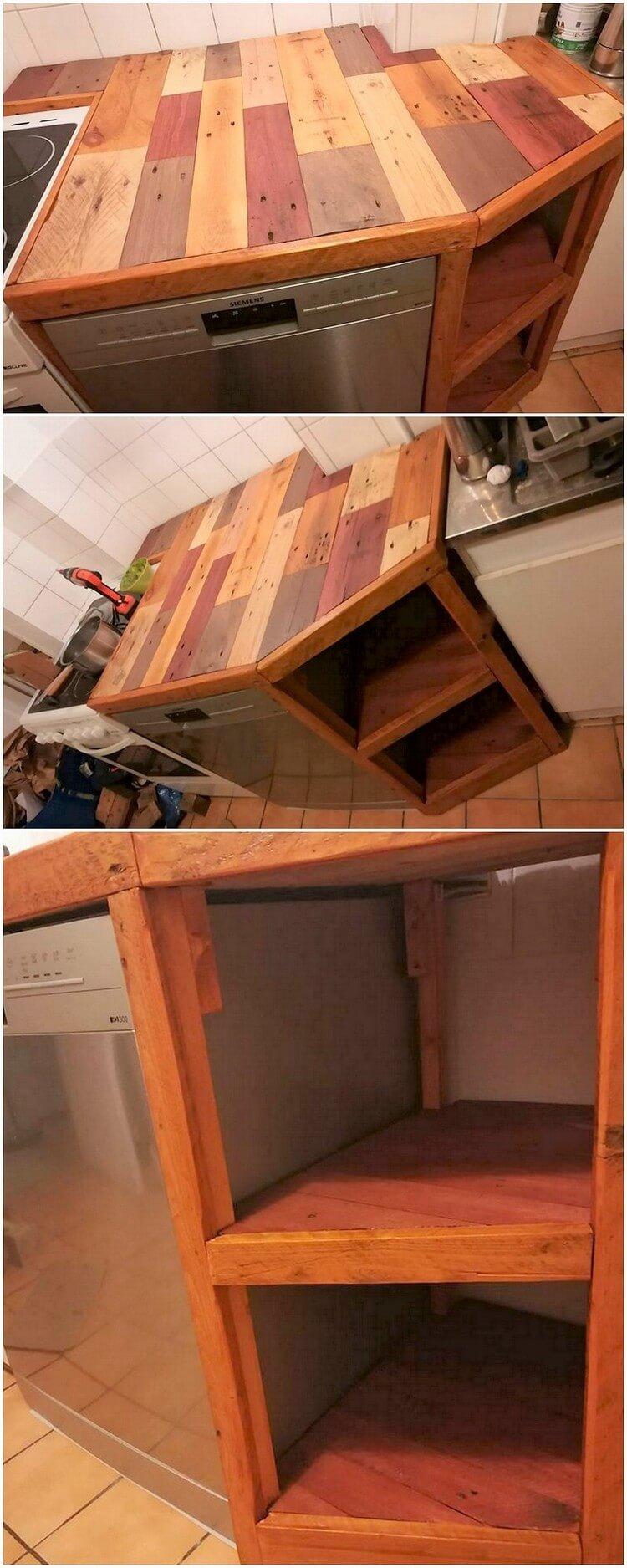 Pallet Creation for Kitchen