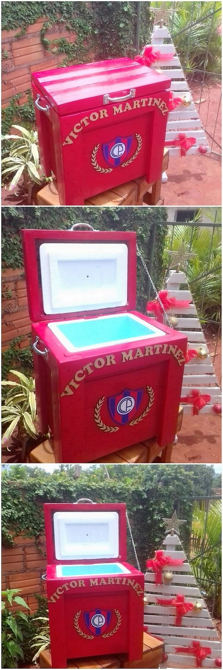 Pallet Mini Cooler