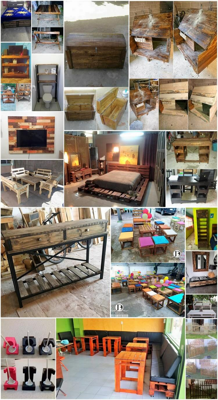 Easy to Build Wood Pallet Recycling Ideas