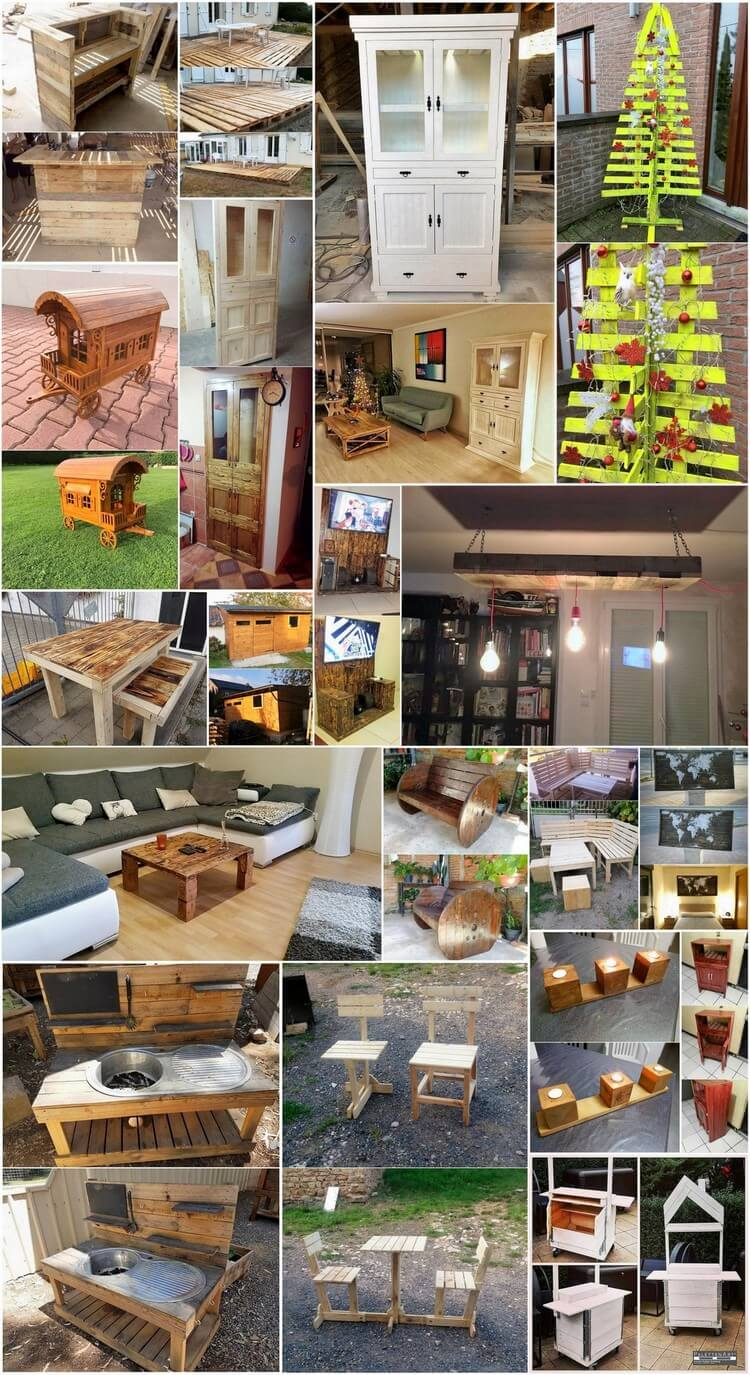 Mind Blowing Projects That Transform Old Wood Pallets Into Fabulous Things