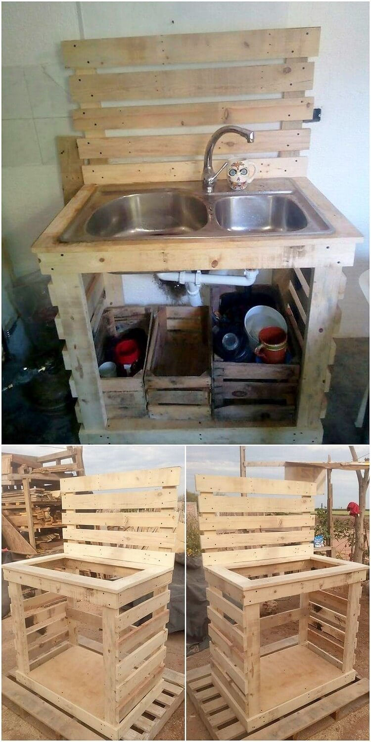 Ways to make amazing projects with repurposed wood pallets for What can you make with recycled pallets
