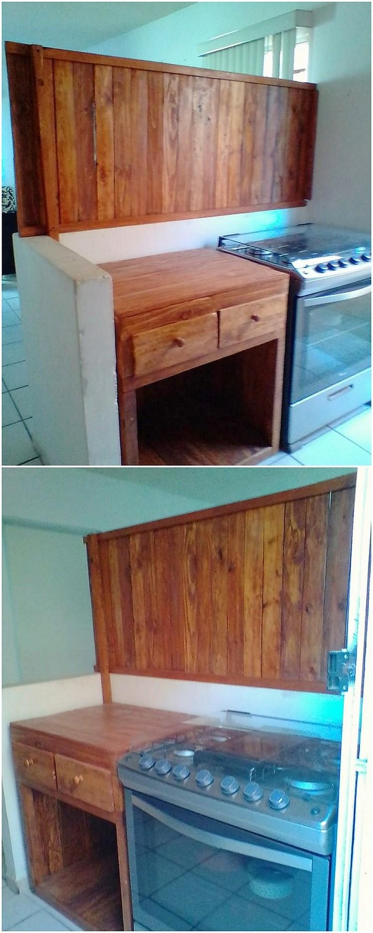 Pallet Kitchen Creation