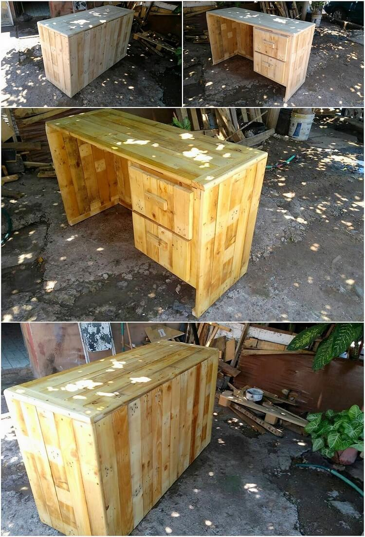Pallet Study Table or Desk