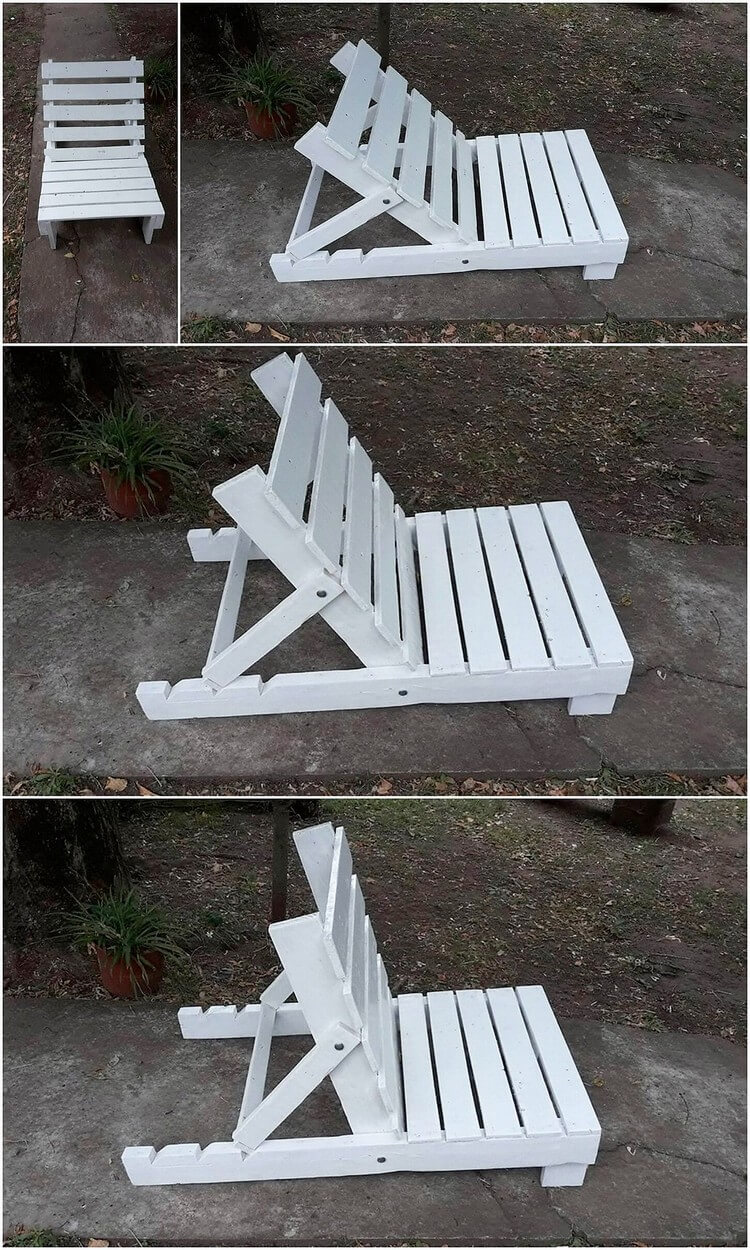 Pallet Sun Lounge Chair