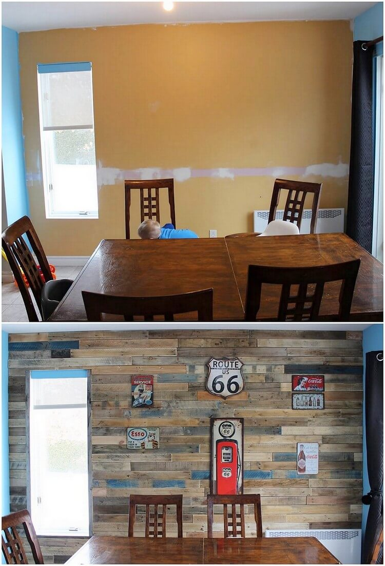 Pallet Wall Paneling