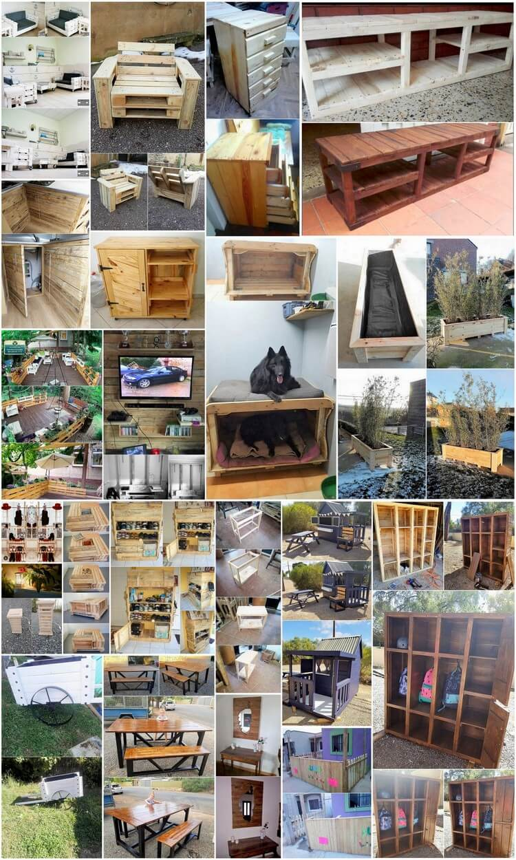 Clever Ideas for Recycling Wood Pallets