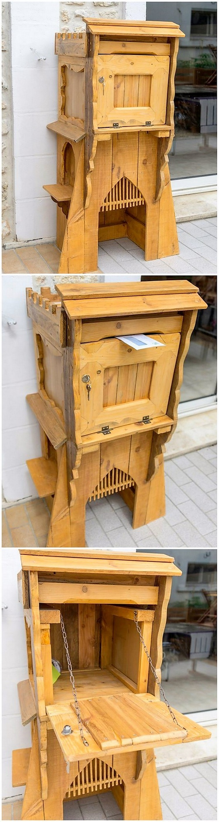 Pallet Mailbox