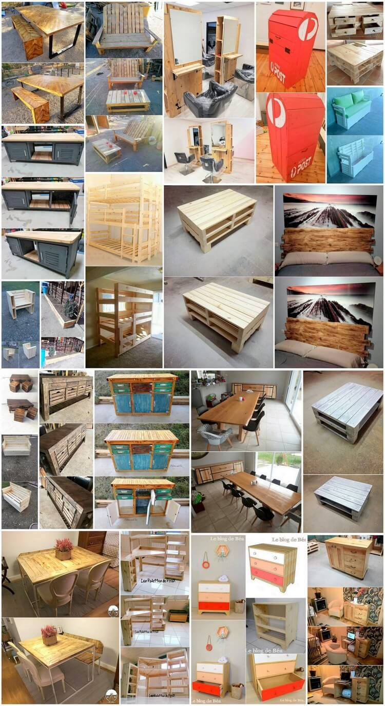 Fascinating Ideas to Repurpose Old Wood Pallets