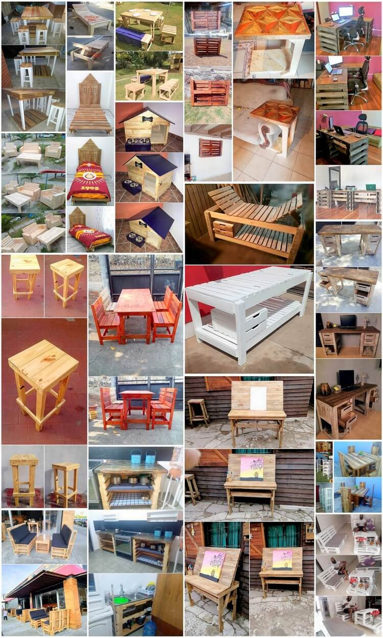Original and Best Wood Pallet Recycling Projects