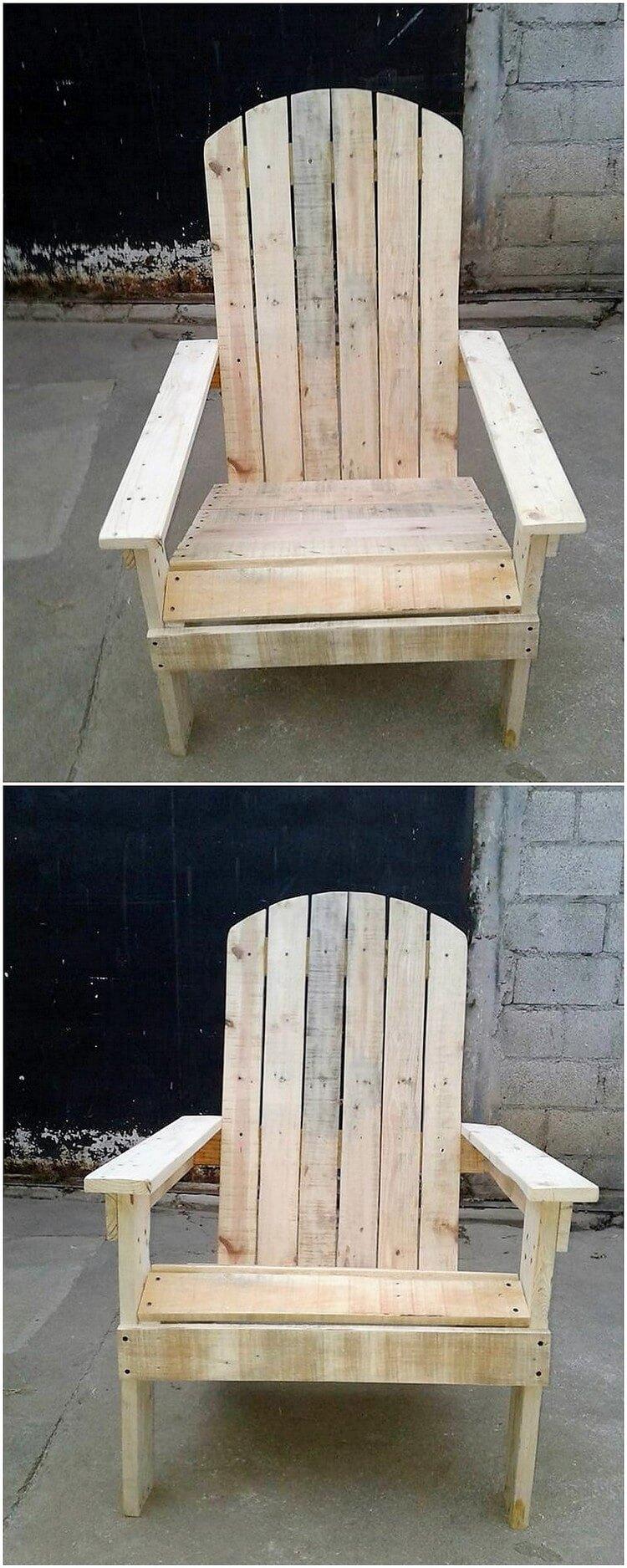Pallet Adirondack Chair