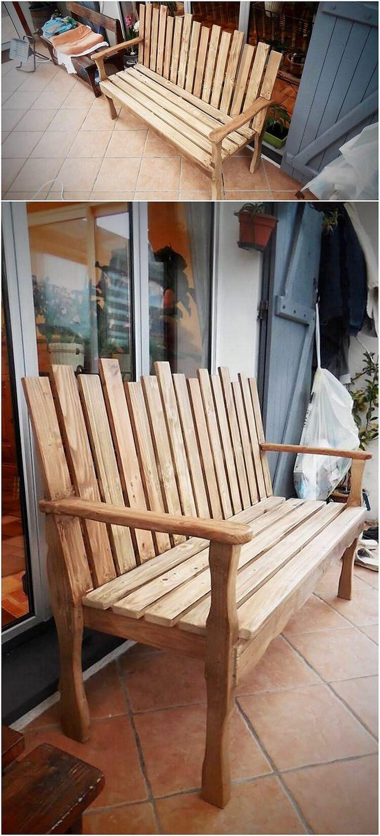 Patio En Bois De Palette sensational wood pallets reusing ideas | recycled crafts