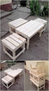 Artistically Designed Industrial Wood Pallet Projects