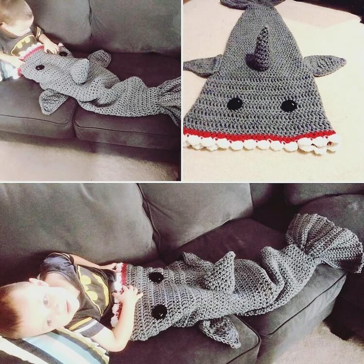 Crochet Blanket for Kids