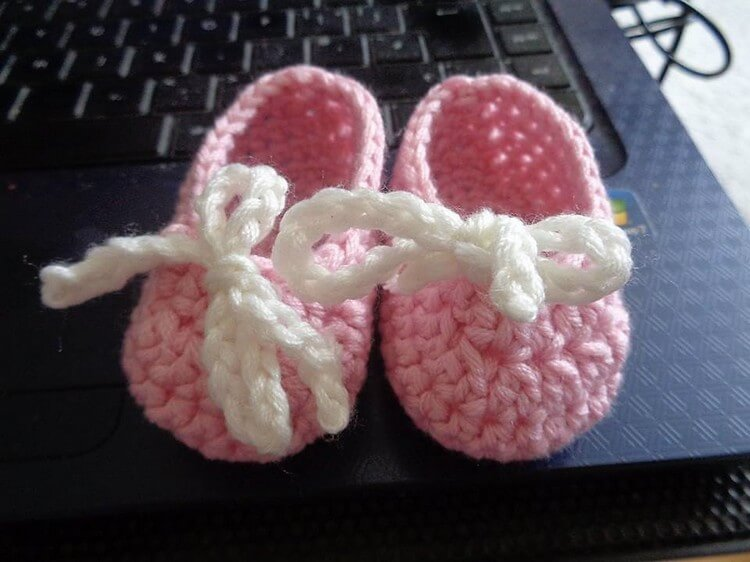Crochet Booties Creation Idea