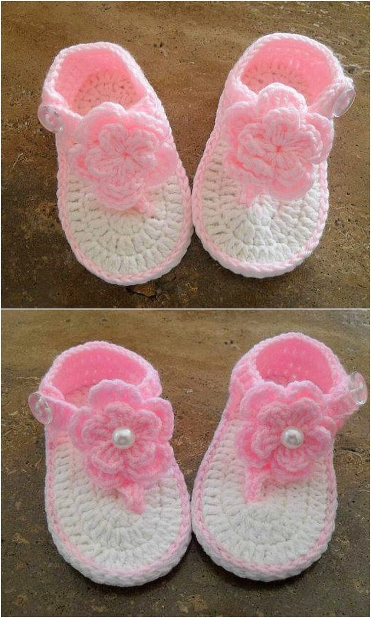 Crochet Booties Idea