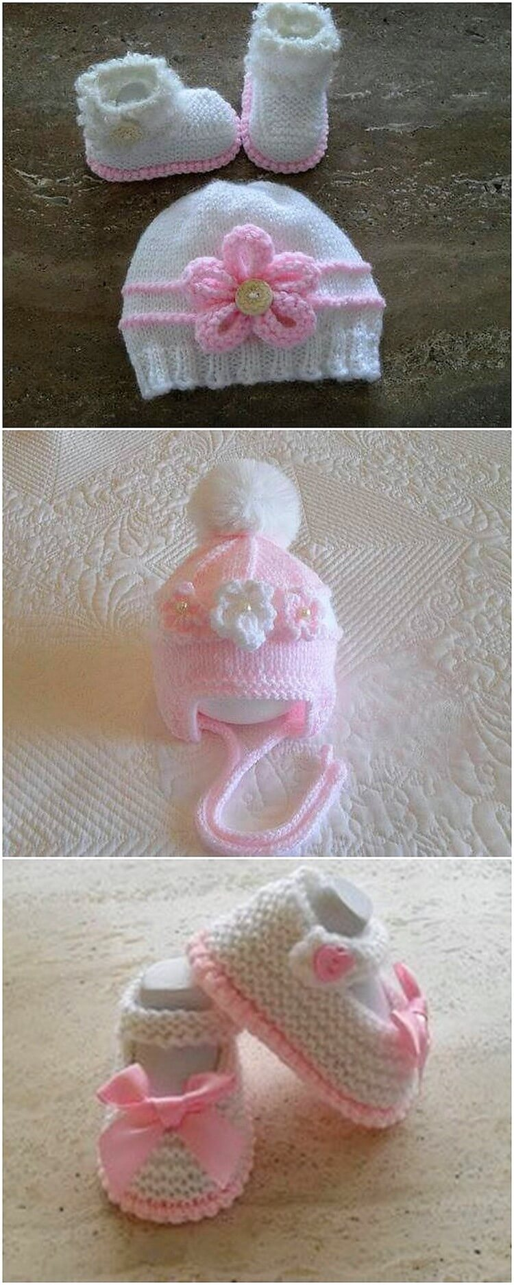 Crochet Cap and Booties for Kids (2)