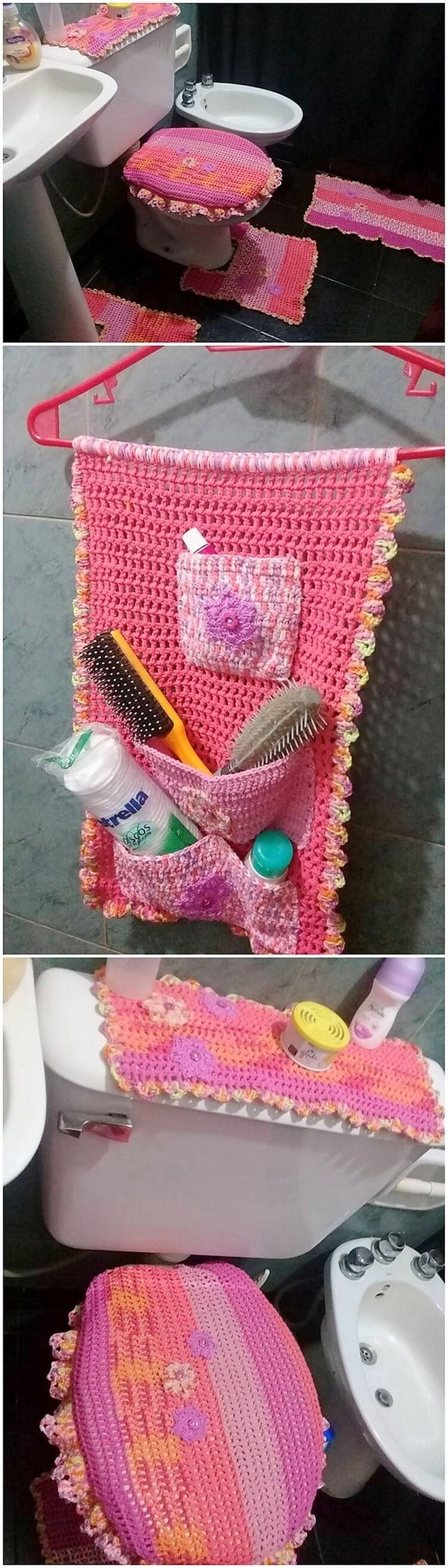 Crochet Creation for Bathroom