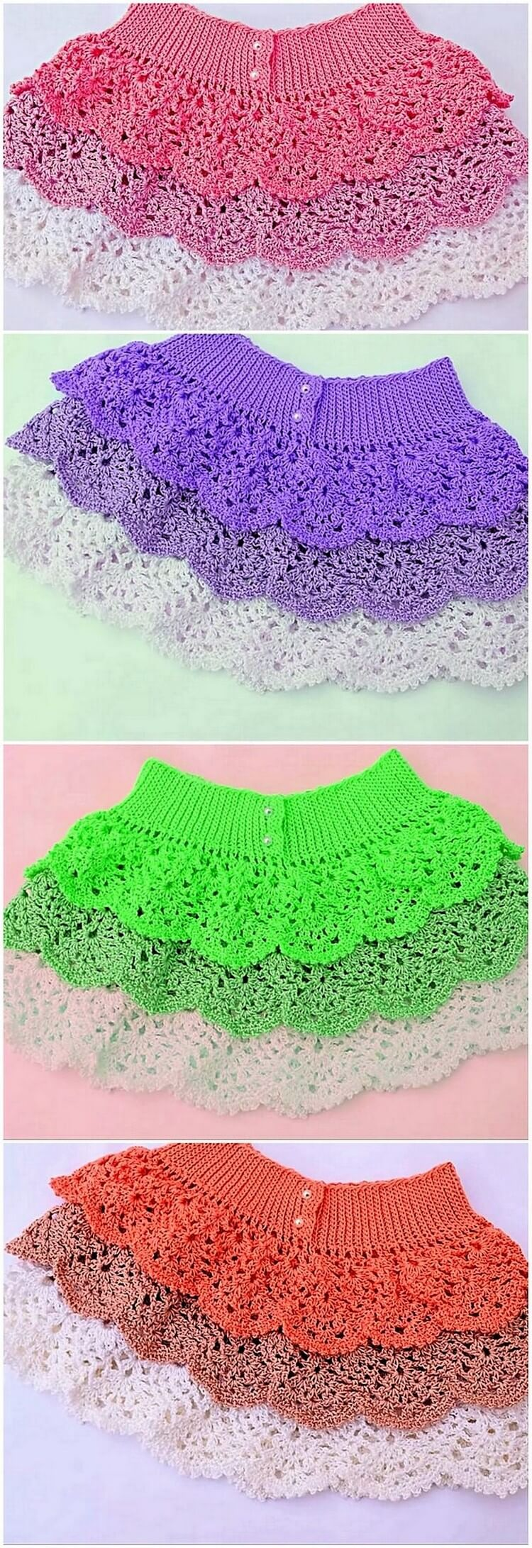 Crochet Frock Creation